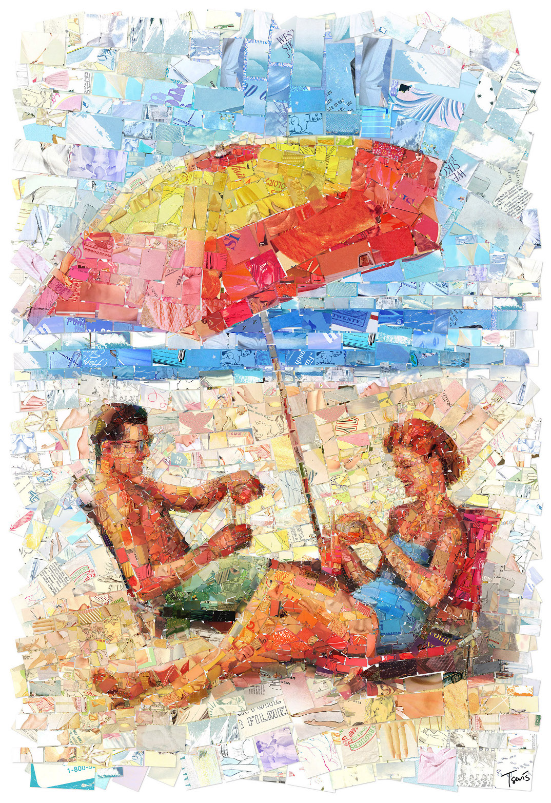 mosaici-collage-riviste-anni-50-60-endless-summer-charis-tsevis-10