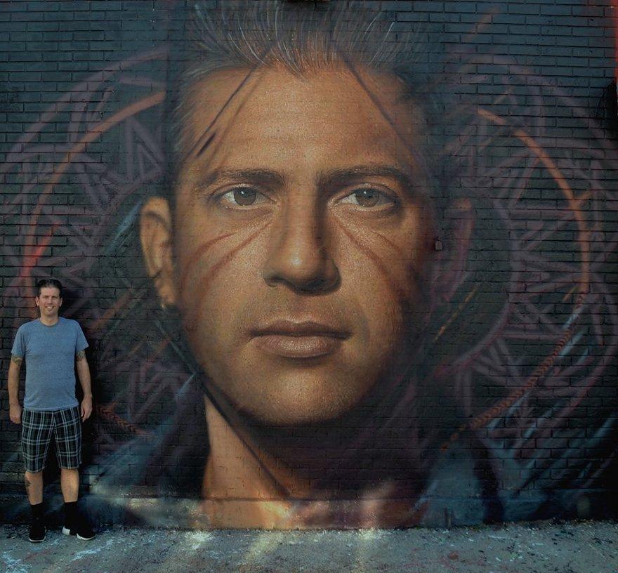 Street Art Iperrealista Jorit Agoch