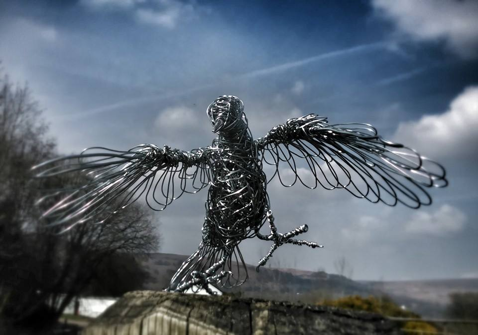 sculture-filo-metallico-animali-candice-bees-01