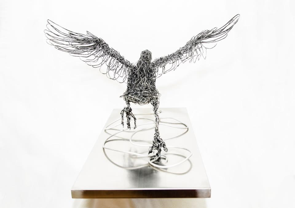 sculture-filo-metallico-animali-candice-bees-11
