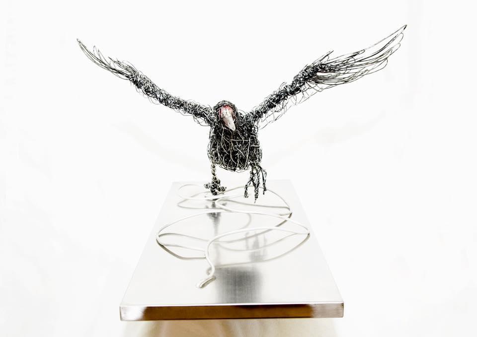 sculture-filo-metallico-animali-candice-bees-12