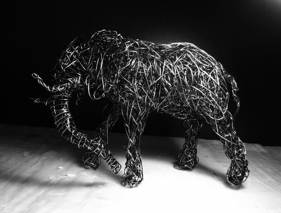 sculture-filo-metallico-animali-candice-bees-15