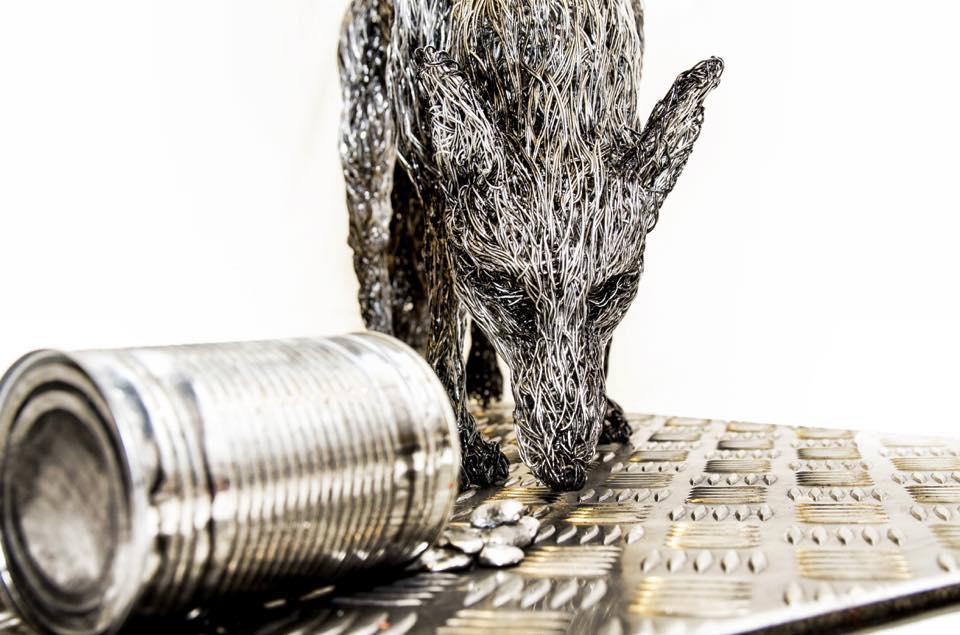sculture-filo-metallico-animali-candice-bees-20