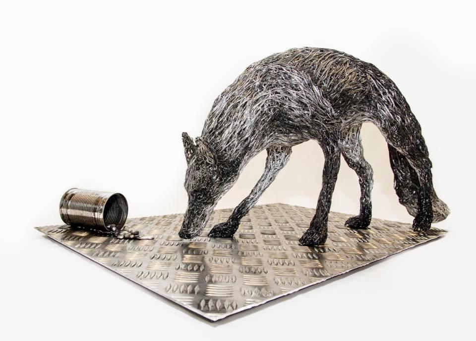 sculture-filo-metallico-animali-candice-bees-21