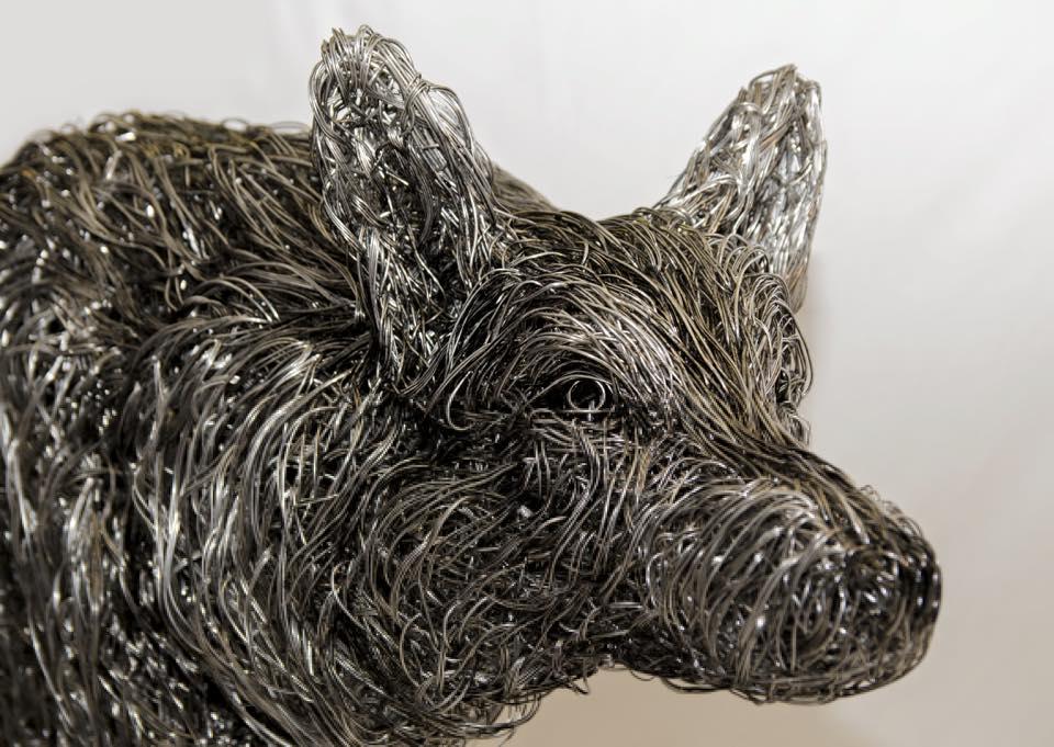sculture-filo-metallico-animali-candice-bees-29