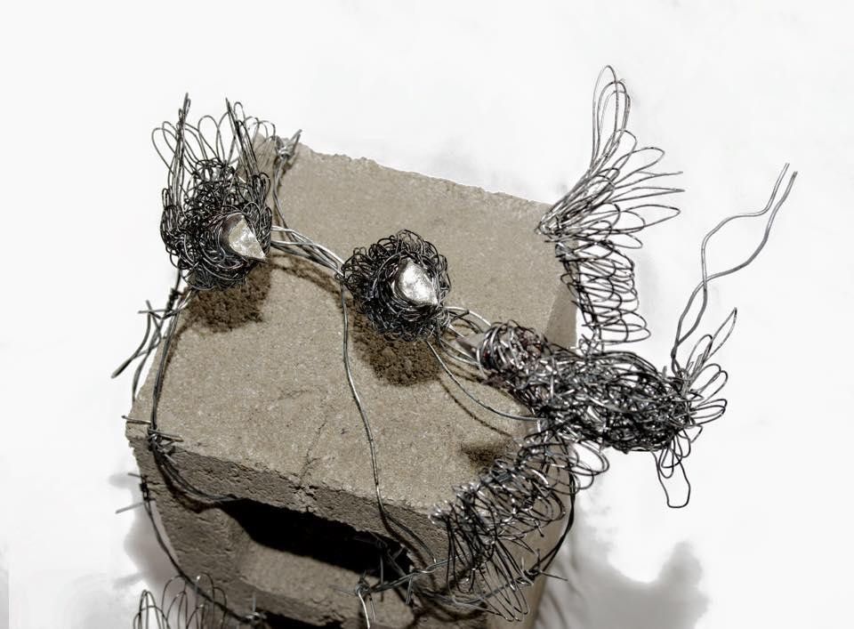 sculture-filo-metallico-animali-candice-bees-34