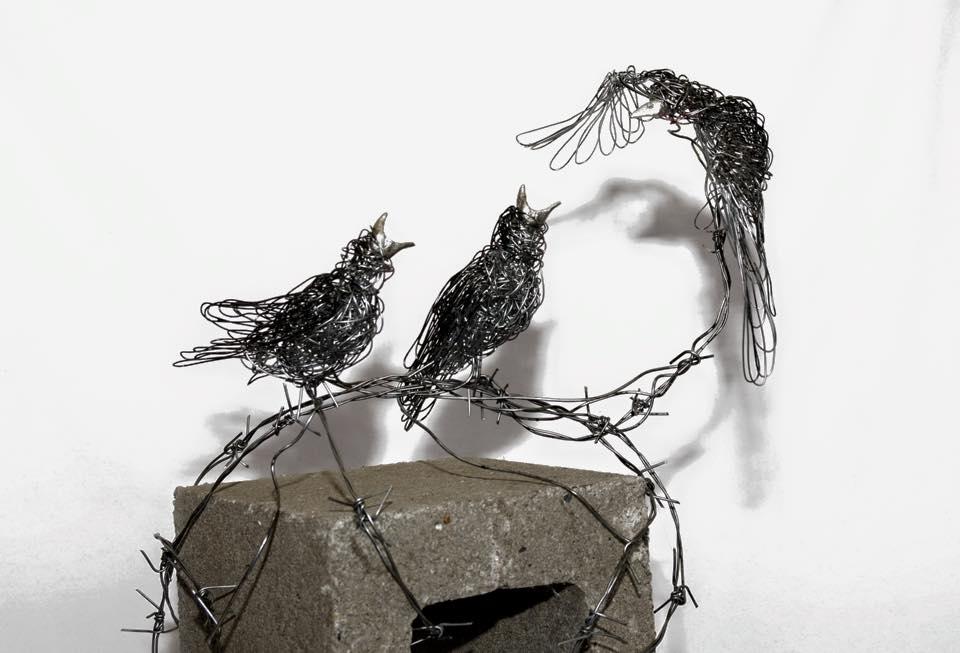 sculture-filo-metallico-animali-candice-bees-37