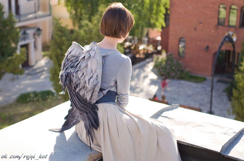 Risultato immagini per zaino angeli