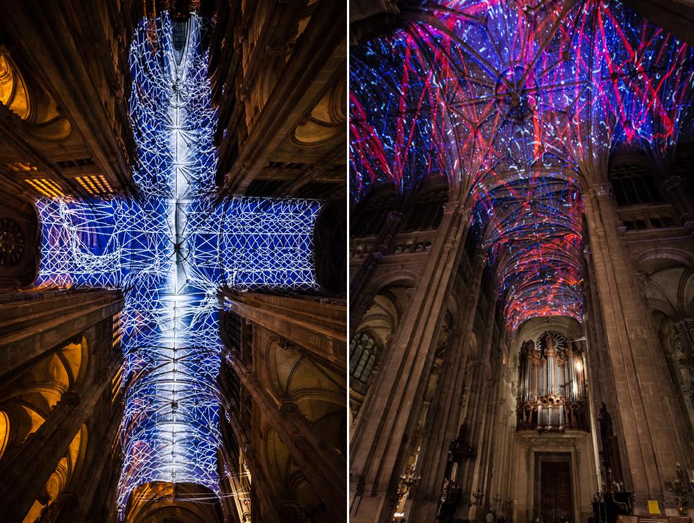 installazione-cielo-virtuale-chiesa-saint-eustache-parigi-voutes-celestes-miguel-chevalier-2