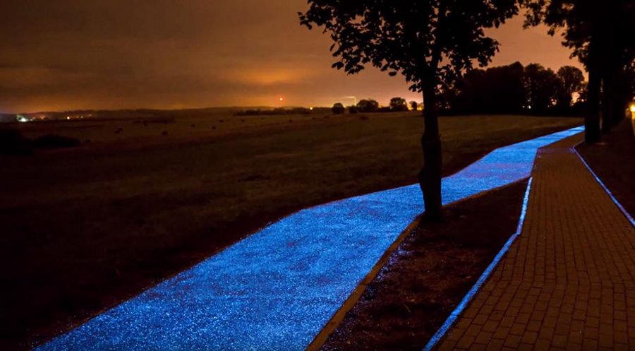 pista-ciclabile-illuminazione-notturna-polonia-3