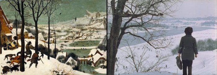 Sapevate che molte scene di film sono ispirate a quadri famosi keblog - Lo specchio tarkovskij ...