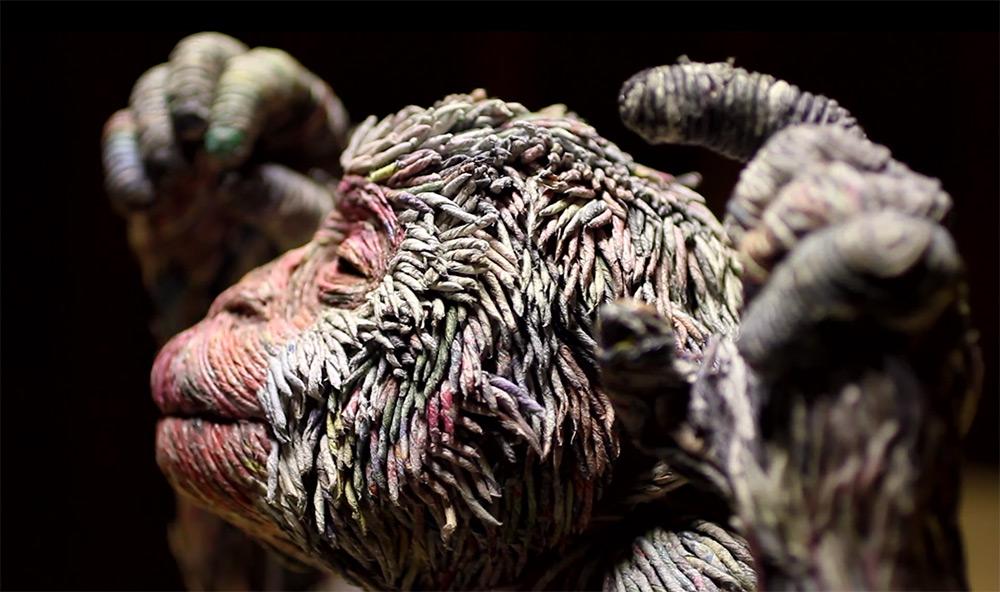 sculture-animali-grandezza-reale-carta-giornali-arrotolati-chie-hitotsuyama-03