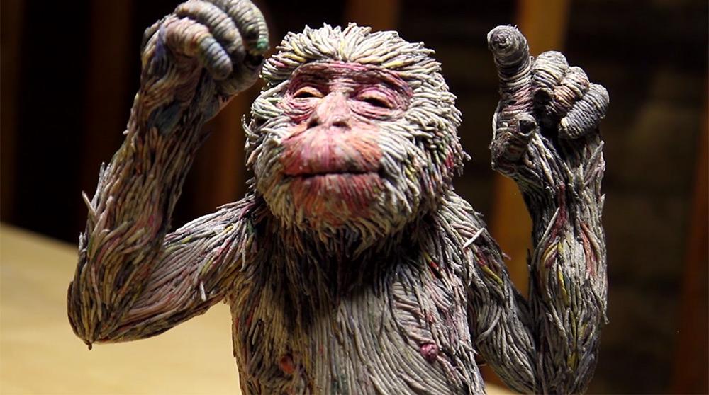 sculture-animali-grandezza-reale-carta-giornali-arrotolati-chie-hitotsuyama-04
