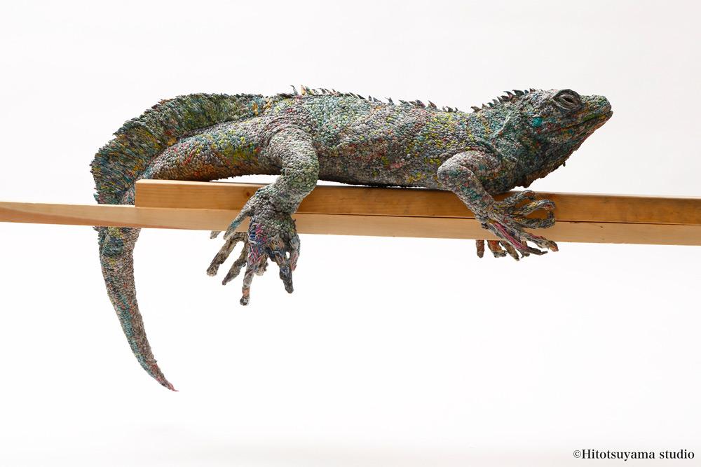 sculture-animali-grandezza-reale-carta-giornali-arrotolati-chie-hitotsuyama-06