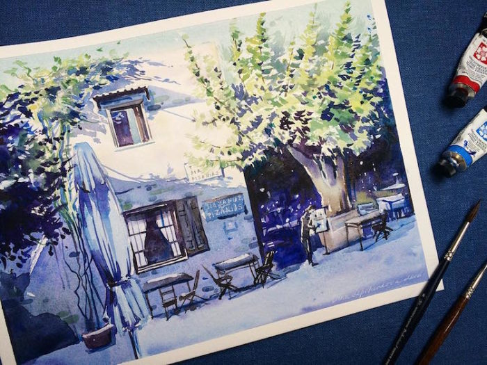 acquerelli-scorci-paesaggi-natura-dina-lepchenkova-01