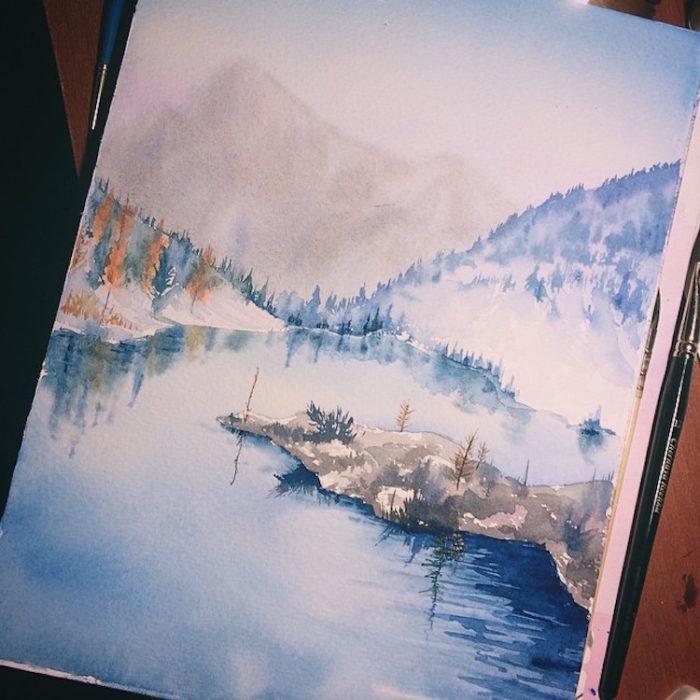 acquerelli-scorci-paesaggi-natura-dina-lepchenkova-04