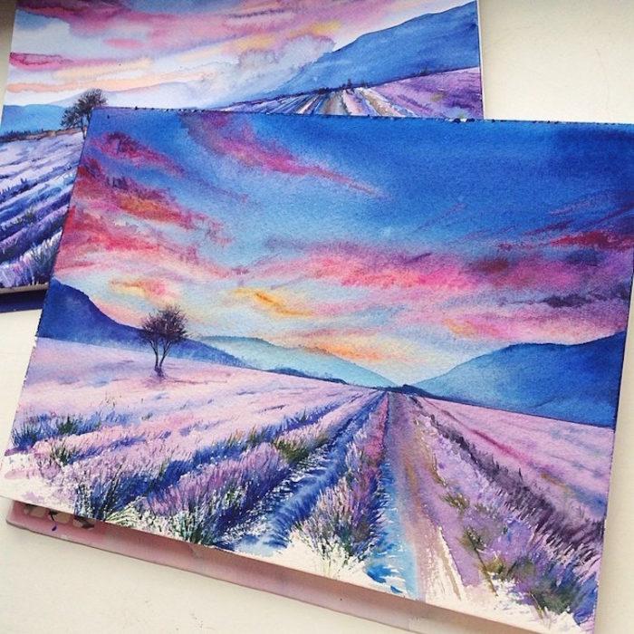 acquerelli-scorci-paesaggi-natura-dina-lepchenkova-10