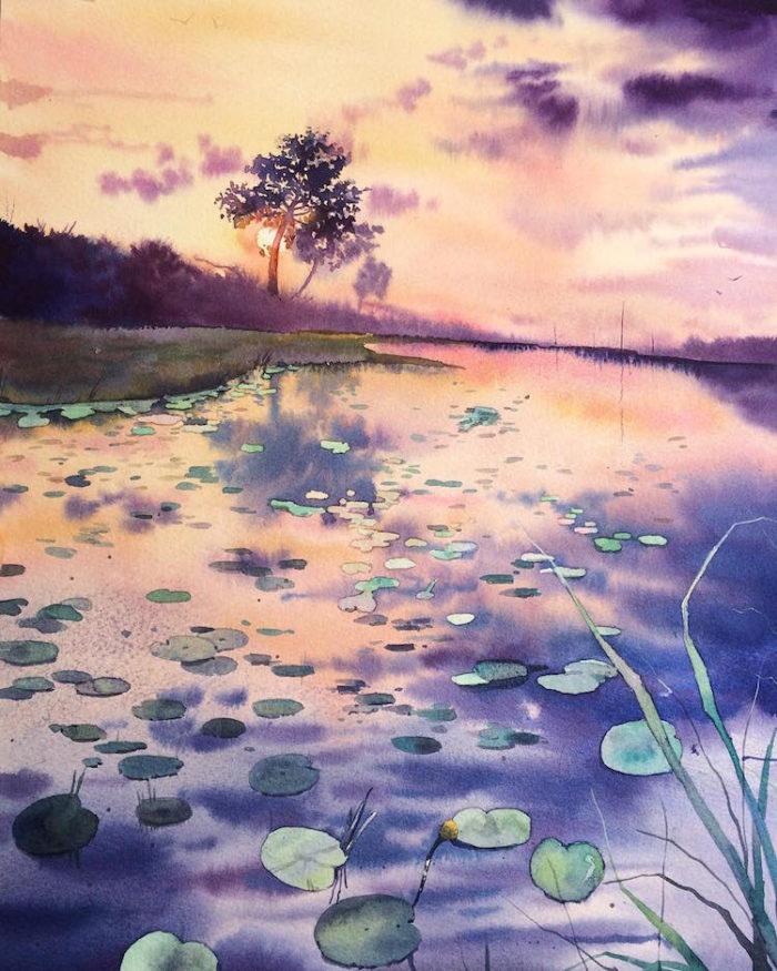 acquerelli-scorci-paesaggi-natura-dina-lepchenkova-12