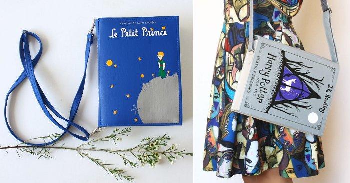 riproducono copertine le borse artigianali libri di famosi Originali Twg7x