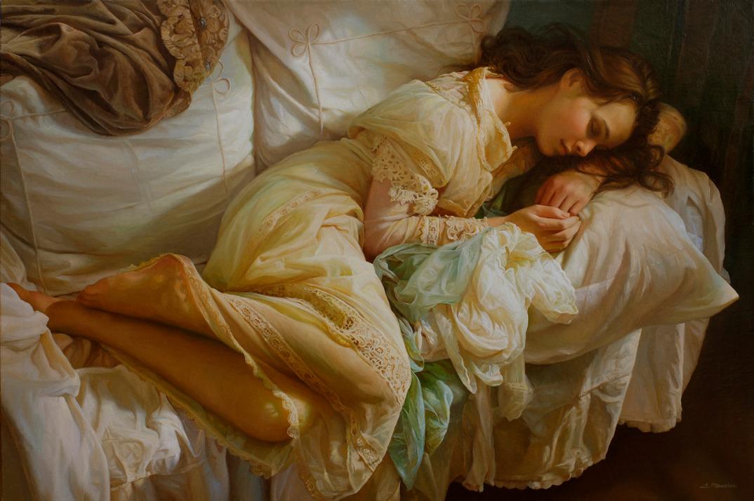 dipinti-olio-donne-seducenti-sensuali-sergei-marshennikov-08