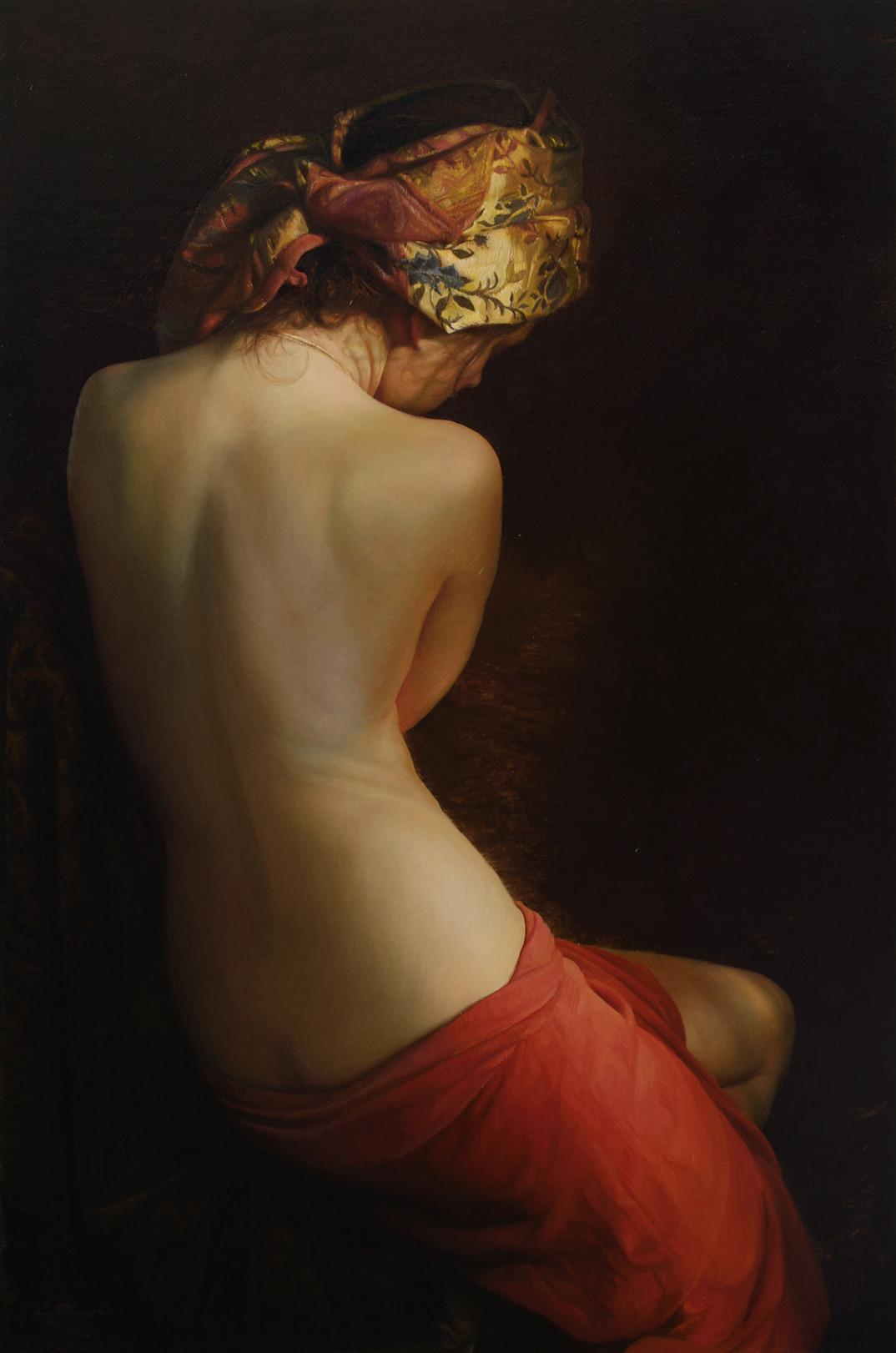 dipinti-olio-donne-seducenti-sensuali-sergei-marshennikov-10