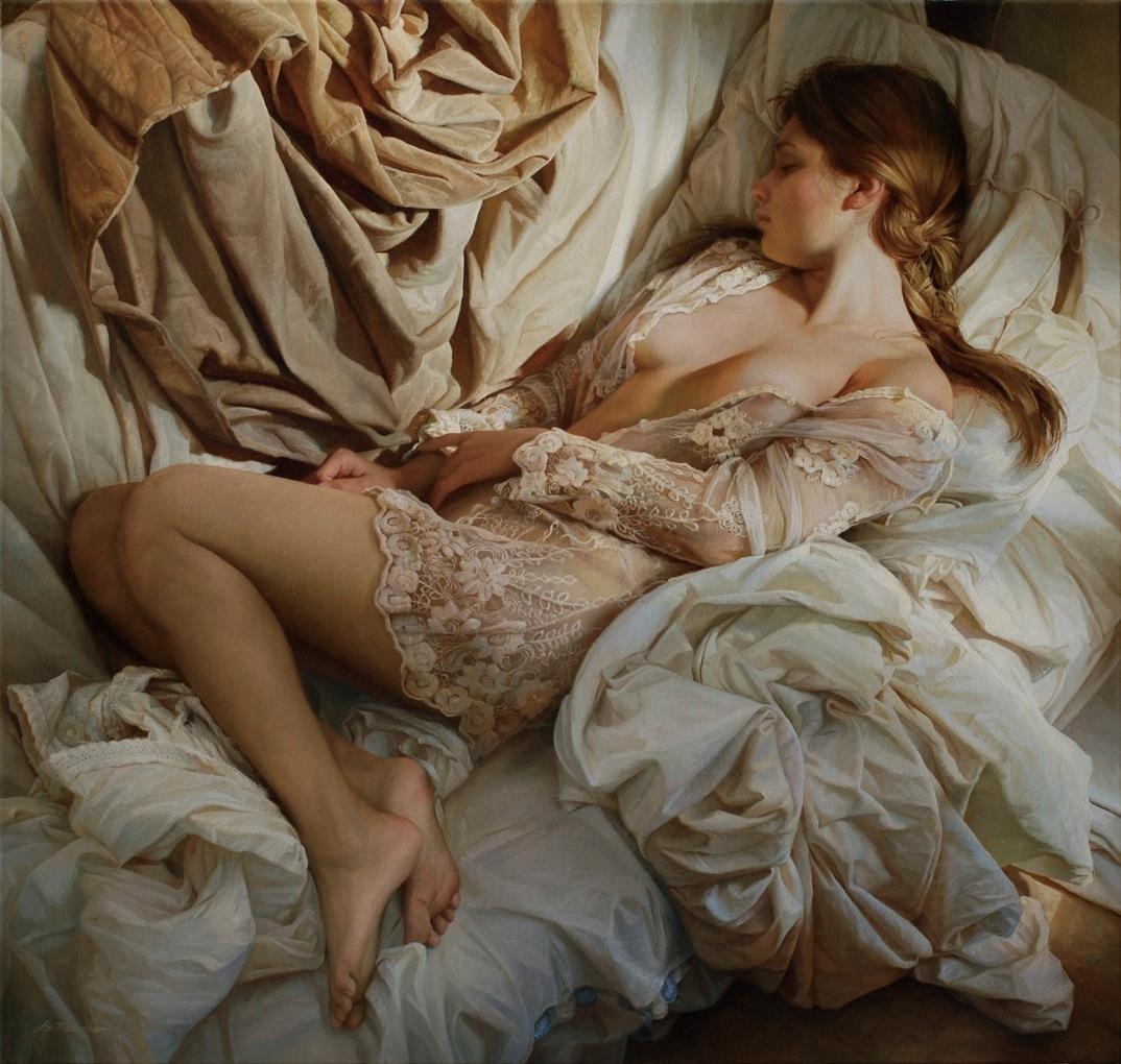 dipinti-olio-donne-seducenti-sensuali-sergei-marshennikov-14