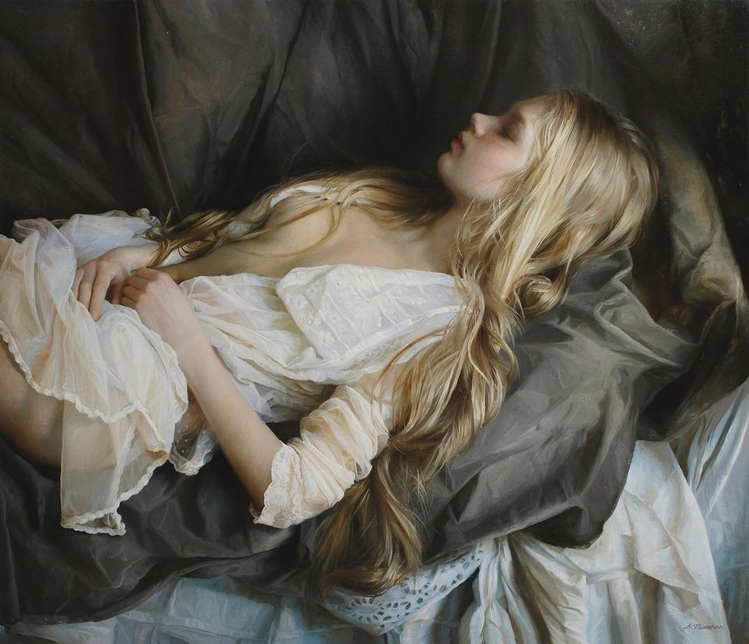 dipinti-olio-donne-seducenti-sensuali-sergei-marshennikov-16