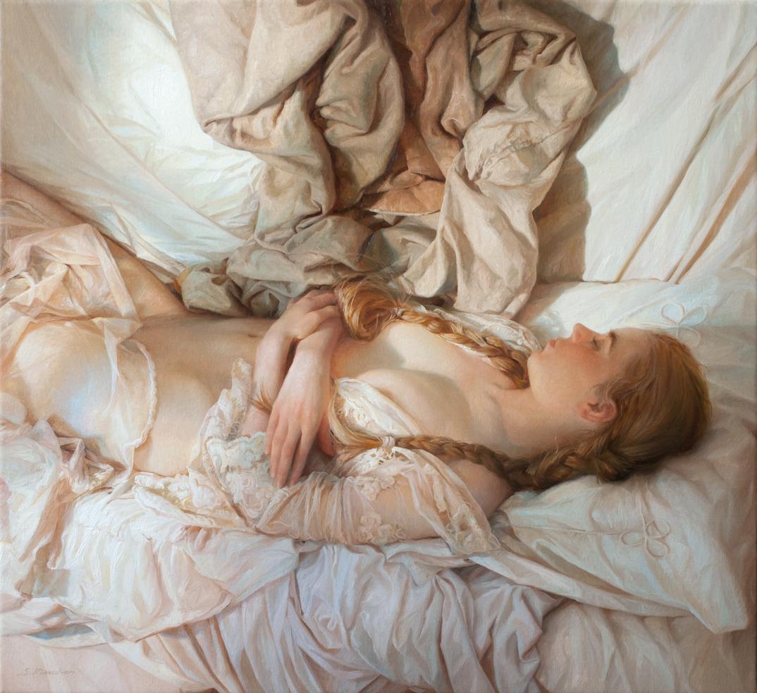 dipinti-olio-donne-seducenti-sensuali-sergei-marshennikov-18