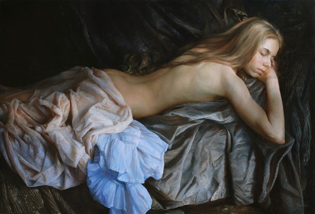 dipinti-olio-donne-seducenti-sensuali-sergei-marshennikov-20