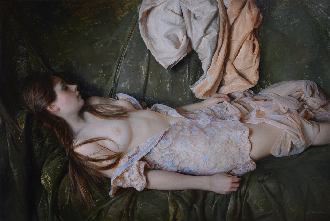 dipinti-olio-donne-seducenti-sensuali-sergei-marshennikov-25