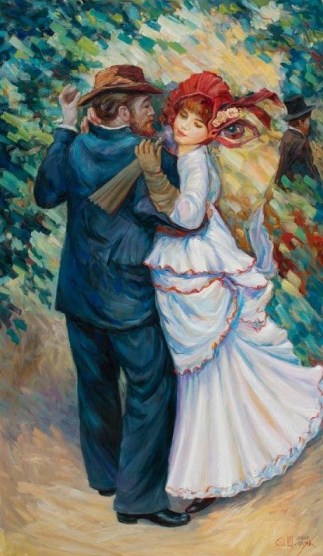 I volti nascosti nei dipinti di oleg shupliak keblog for Quadri illusioni ottiche