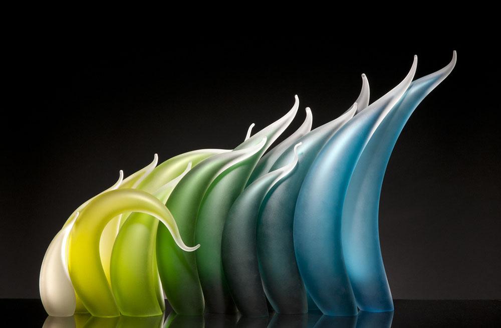 sculture-vetro-soffiato-ondulato-simulano-movimento-rick-eggert-1