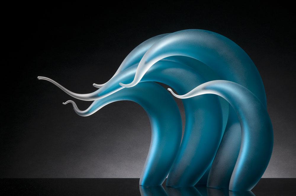 sculture-vetro-soffiato-ondulato-simulano-movimento-rick-eggert-2