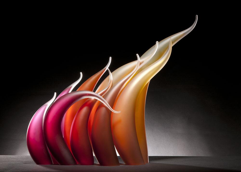 sculture-vetro-soffiato-ondulato-simulano-movimento-rick-eggert-4