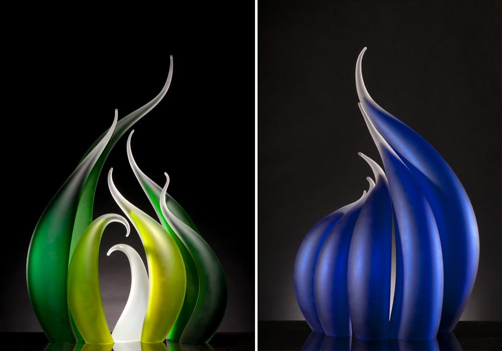 sculture-vetro-soffiato-ondulato-simulano-movimento-rick-eggert-6