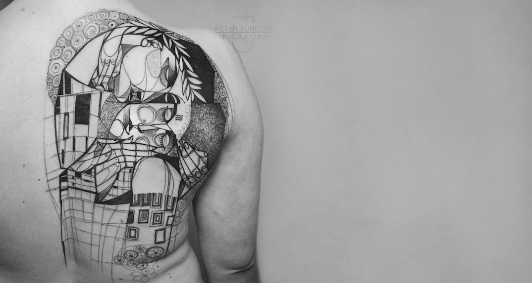 tatuaggi-ispirati-dipinti-gustav-klimt-02