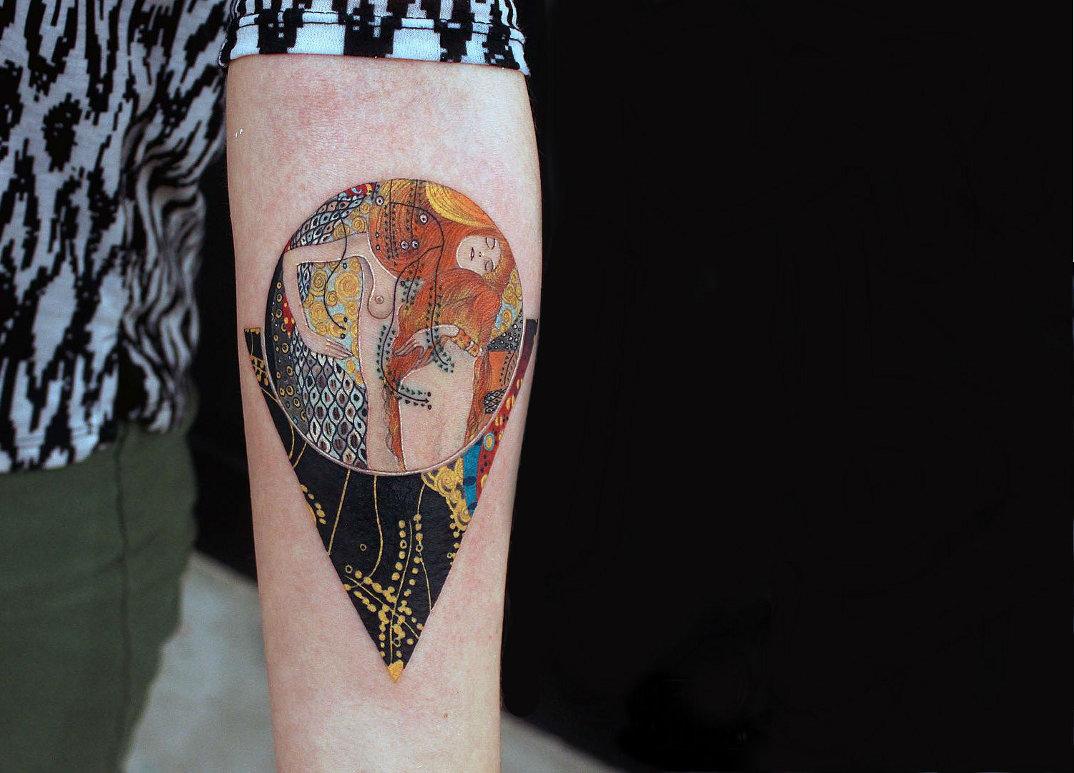 tatuaggi-ispirati-dipinti-gustav-klimt-03