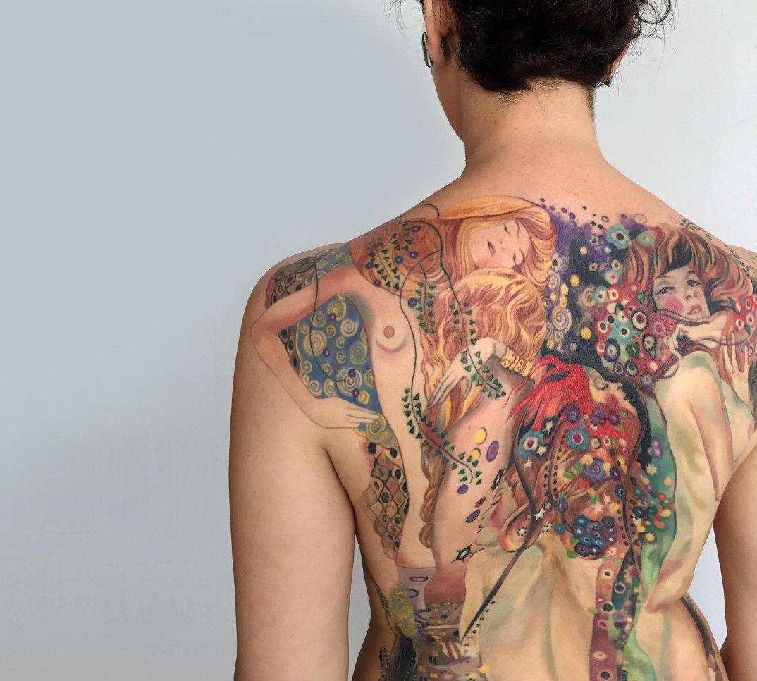 tatuaggi-ispirati-dipinti-gustav-klimt-04