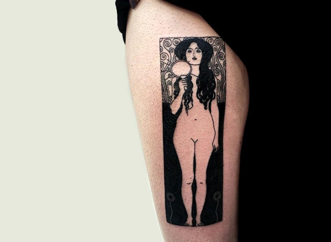 tatuaggi-ispirati-dipinti-gustav-klimt-05