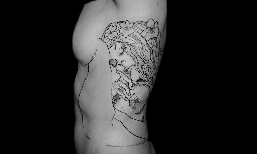tatuaggi-ispirati-dipinti-gustav-klimt-07