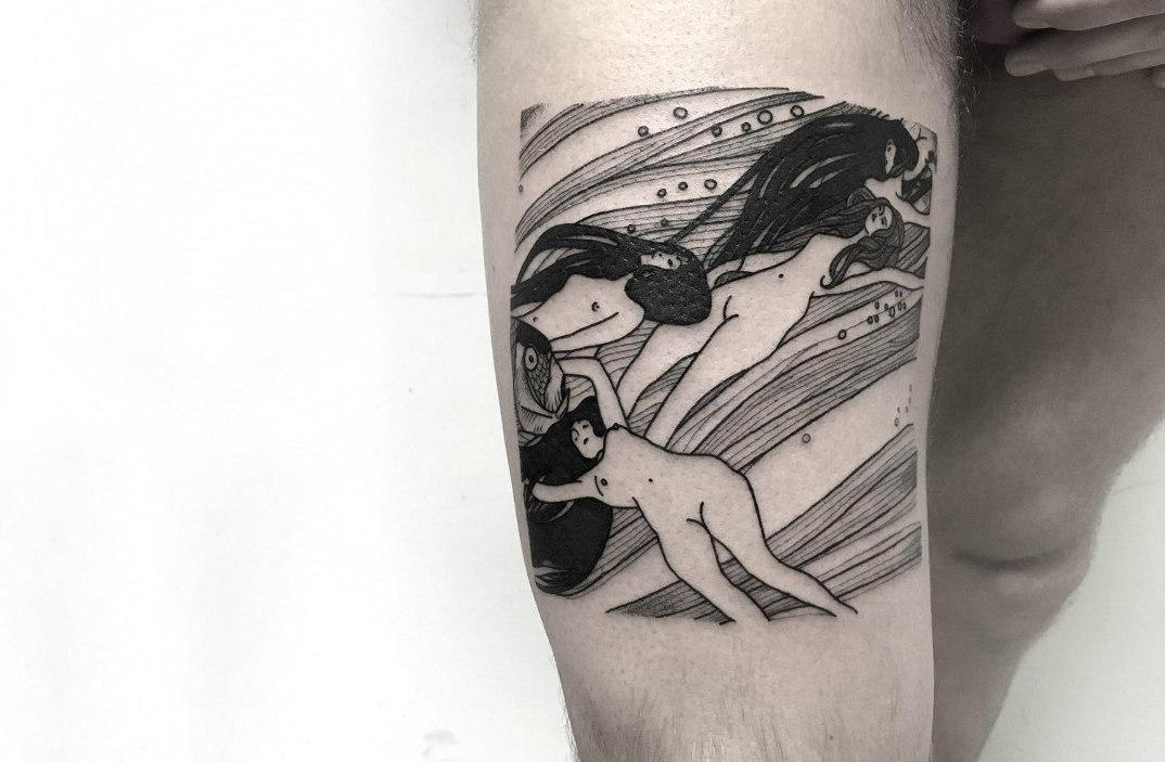 tatuaggi-ispirati-dipinti-gustav-klimt-08