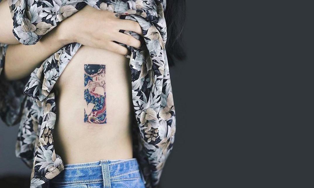 tatuaggi-ispirati-dipinti-gustav-klimt-10