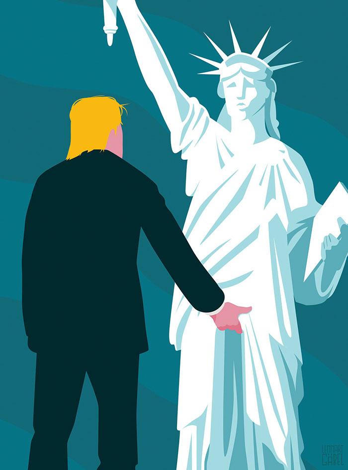 vignette-illustrazioni-divertenti-donald-trump-presidente-stati-uniti-18