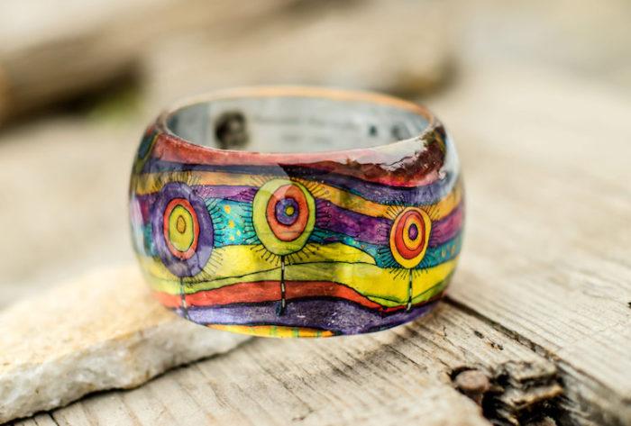 bracciali-resina-fatti-a-mano-opere-arte-famose-pagane-uniques-05