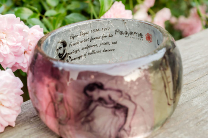 bracciali-resina-fatti-a-mano-opere-arte-famose-pagane-uniques-11