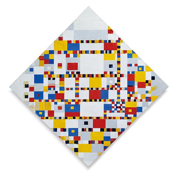Piet MondrianVictory boogie woogie2009S0948