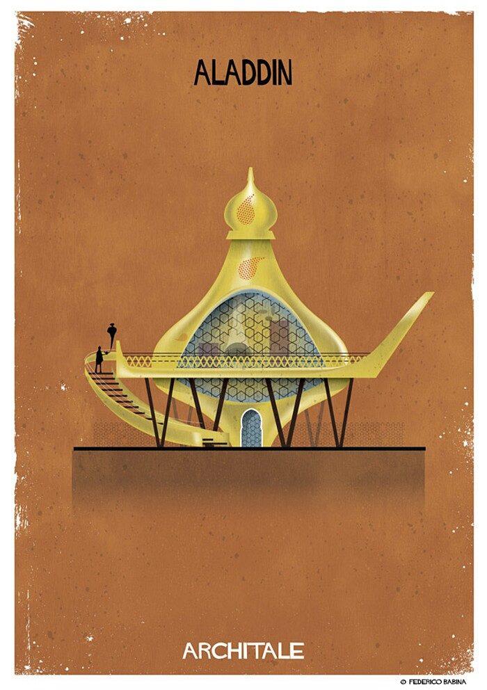 illustrazioni-case-personaggi-fiabe-federico-babina-archtale-01