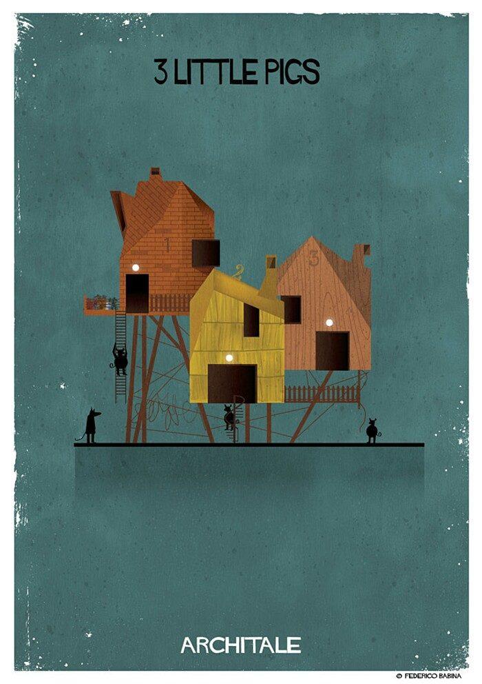 illustrazioni-case-personaggi-fiabe-federico-babina-archtale-05