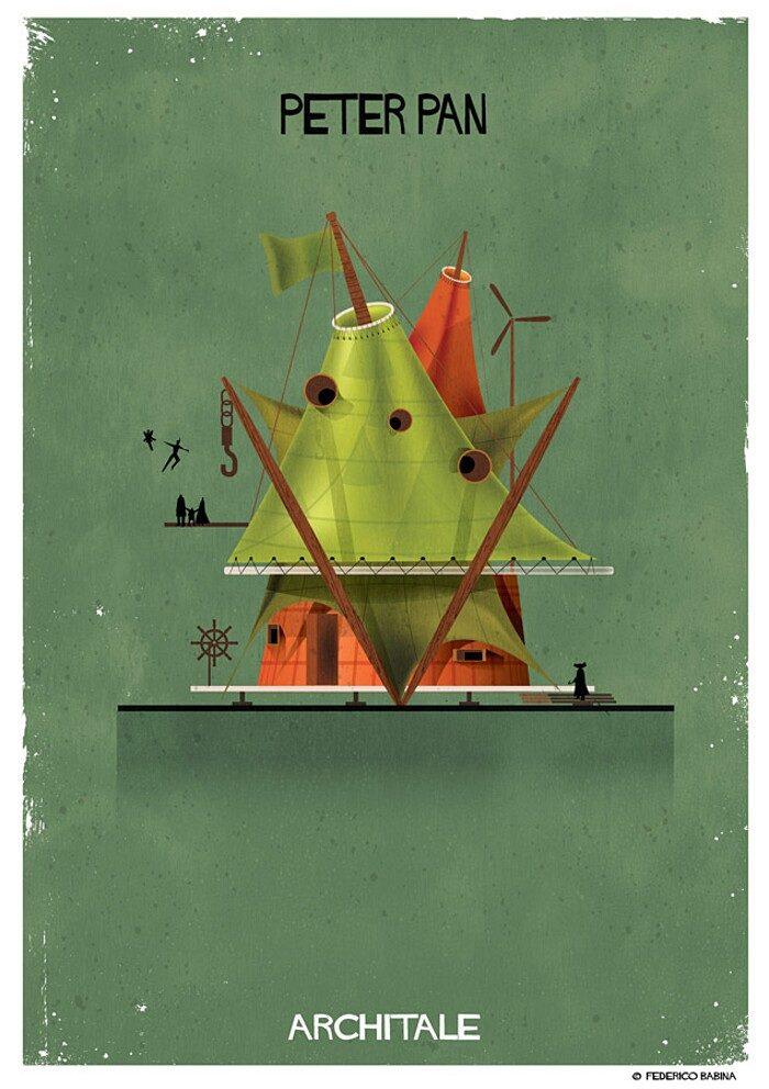 illustrazioni-case-personaggi-fiabe-federico-babina-archtale-08