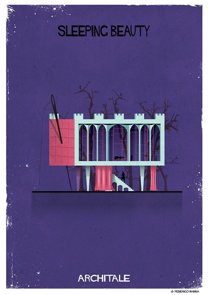 illustrazioni-case-personaggi-fiabe-federico-babina-archtale-10